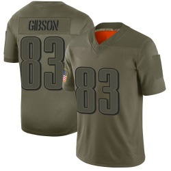 Nike Shelton Gibson Philadelphia Eagles Limited Camo 2019 Salute to Service Jersey - Youth